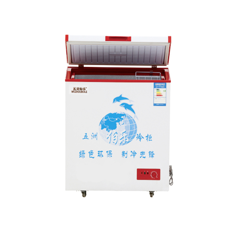 Single Temperature Top Open Single Door Chest Freezer