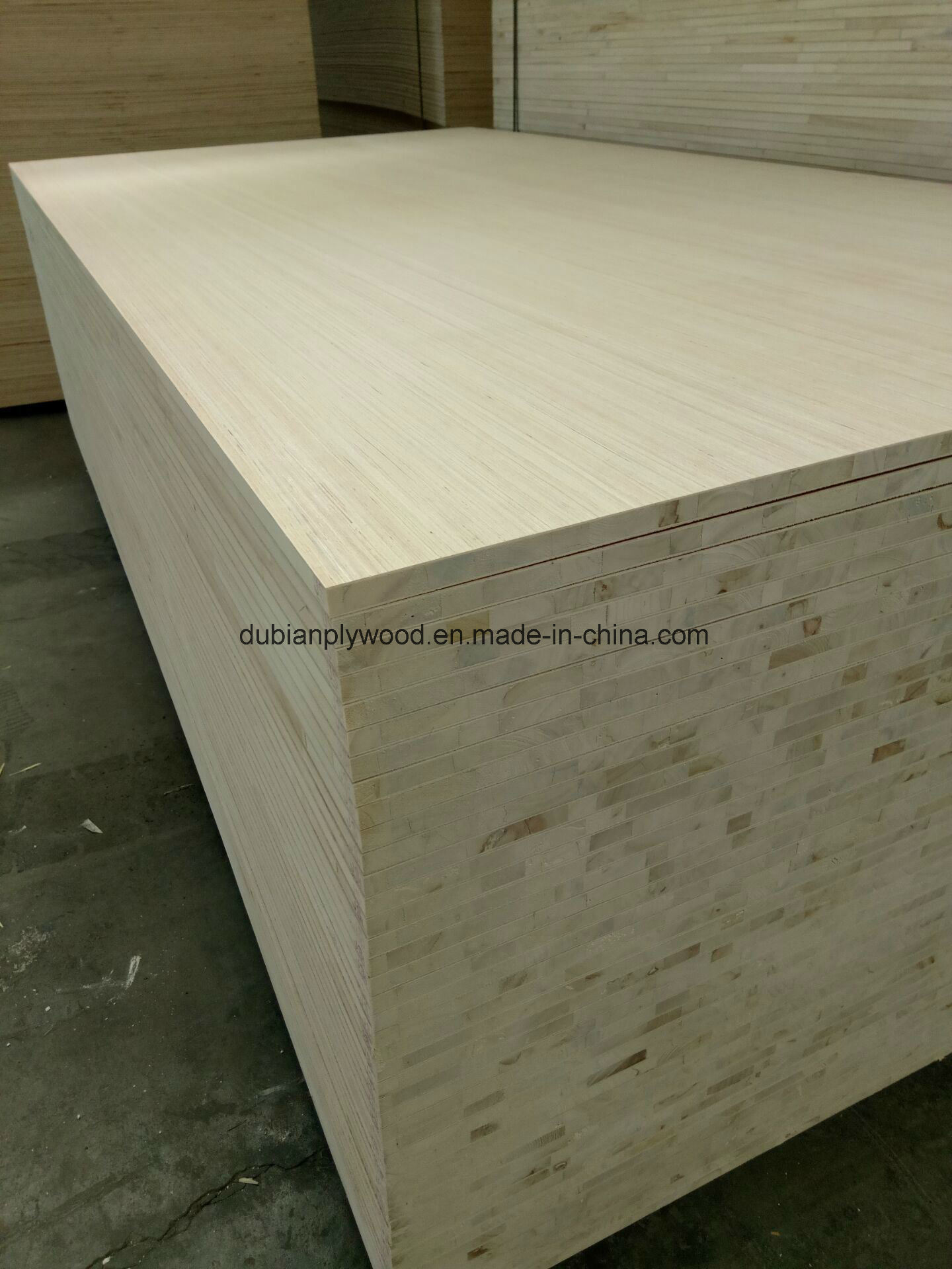 Melamine Faced Block Board for Furniture and Decorative Usage