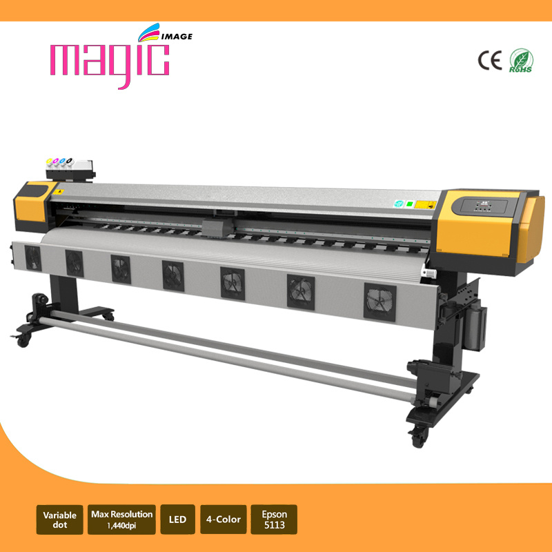 2.3m Large Format Dye Sublimation Printer with Epson 5113