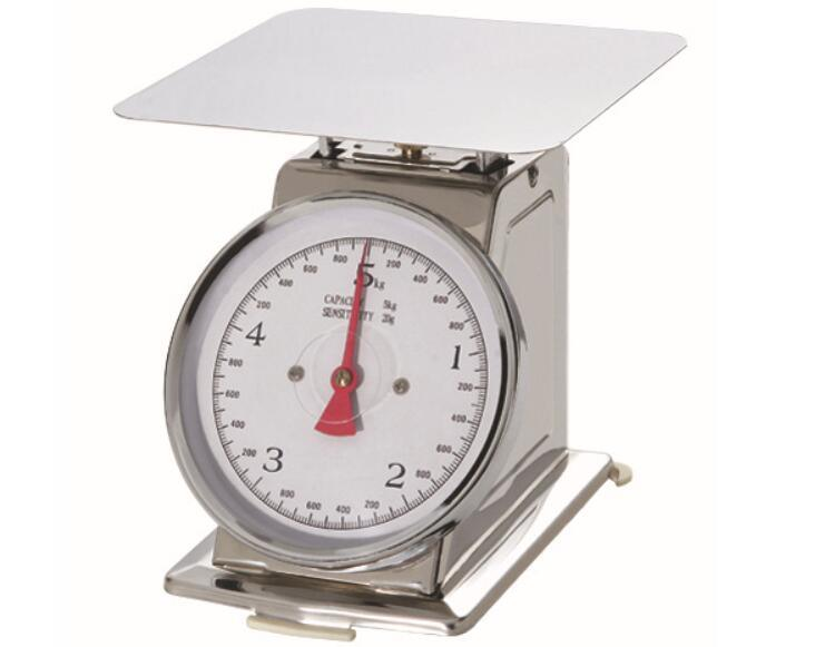 2kg-5kg Stainless Steel Mechanical Kitchen Weighing Scale