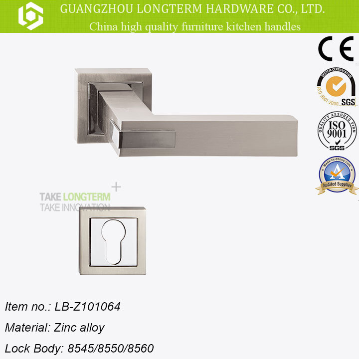 Zinc Alloy Mortise Door Handle Lock