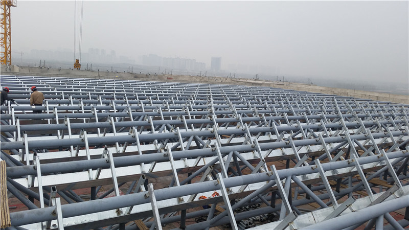 Work Shop Steel Truss Frame Structure Roof System Building
