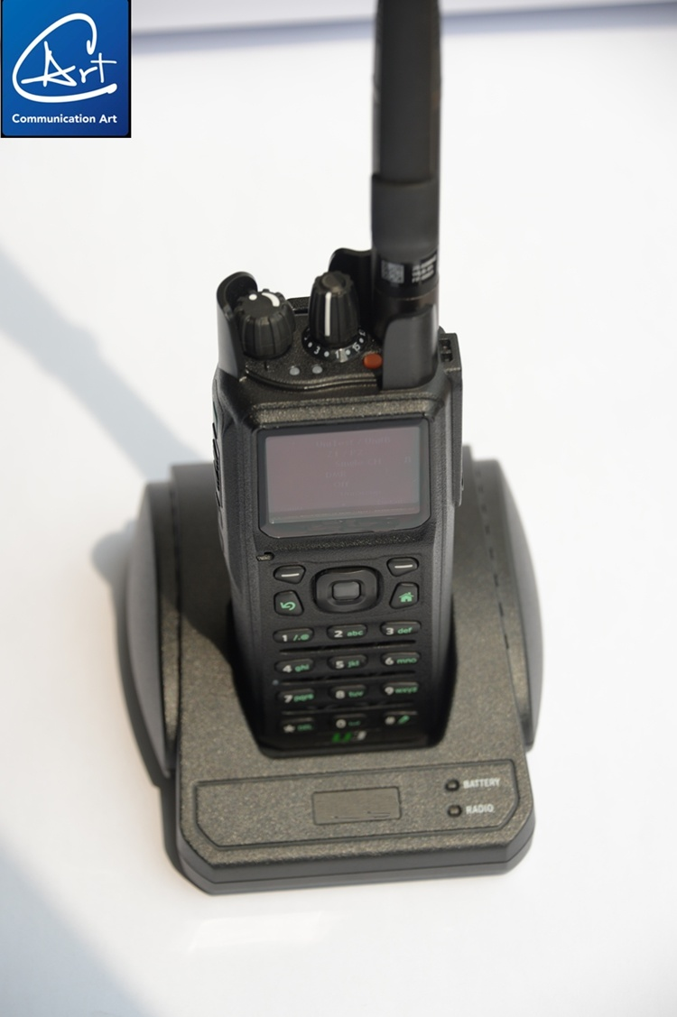 Low Band Military Radio with GPS Mapping, 30-88MHz, 2W/5W with Hopping Function