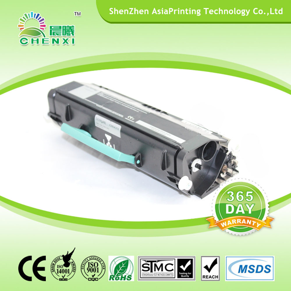 Compatible and Remanufactured Toner Cartridge for Lexmark E260 E360 E460