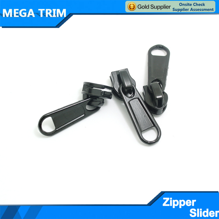 Hot Sale Black Zipper Slider for Nylon Zipper