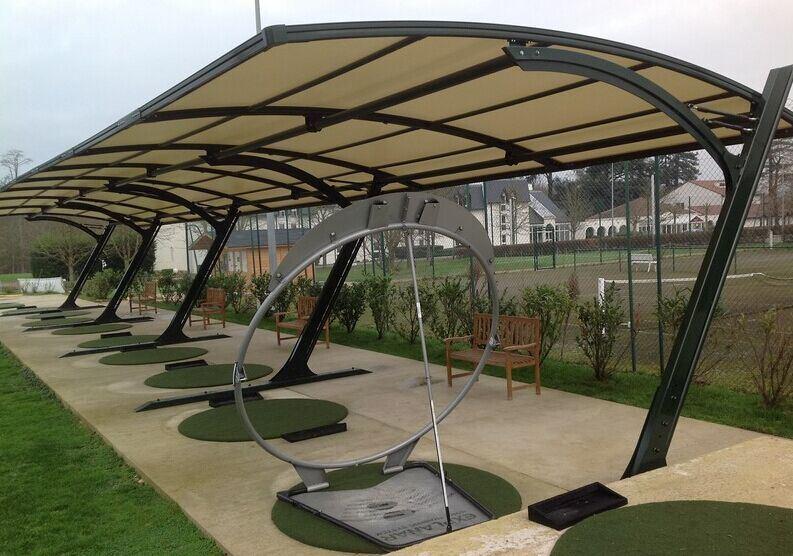 Tent of Single Car Carport