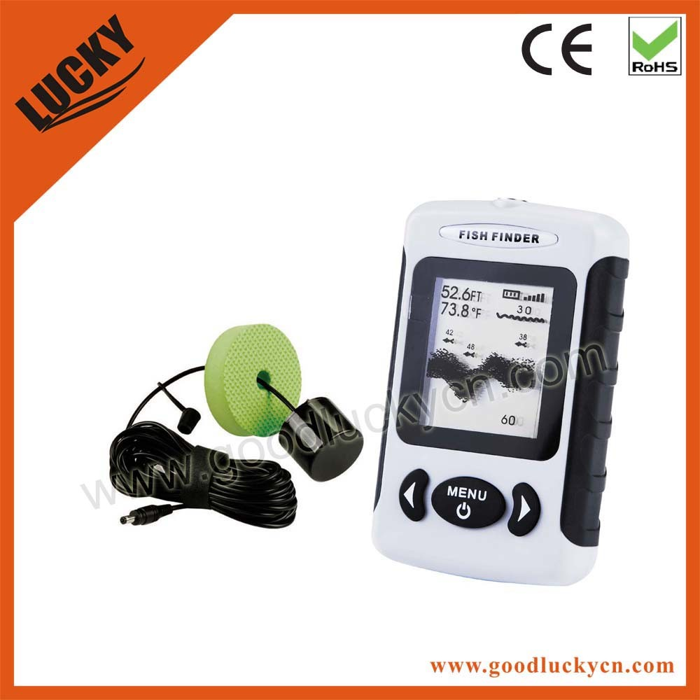 Hot Sale Transducer Wire Sonar Fish Finder (FF718)