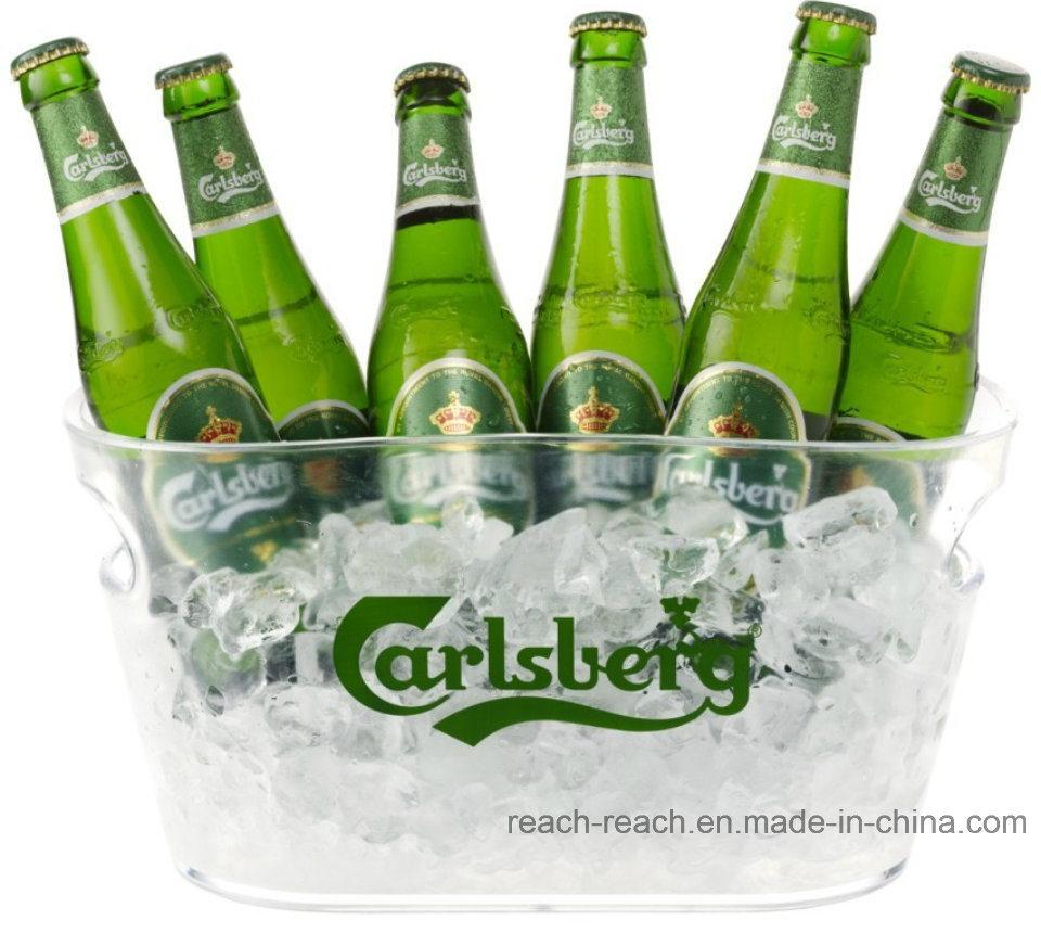Large Size Plastic Beer Ice Bucket (R-IC0143)