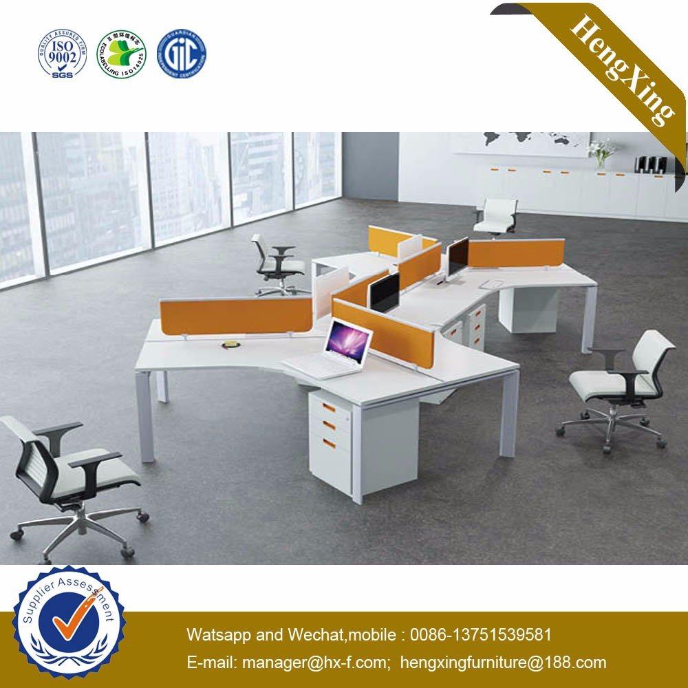 2016 Modern Office Table Wooden Office Furniture Workstation (HX-NJ5022)