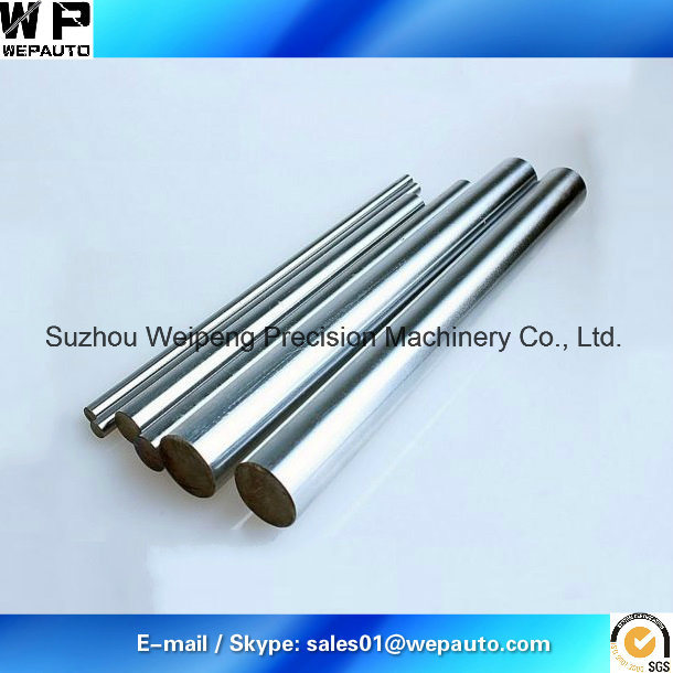 1045 Induction Hard Chrome Plated Piston Rod for Hydraulic Cylinder