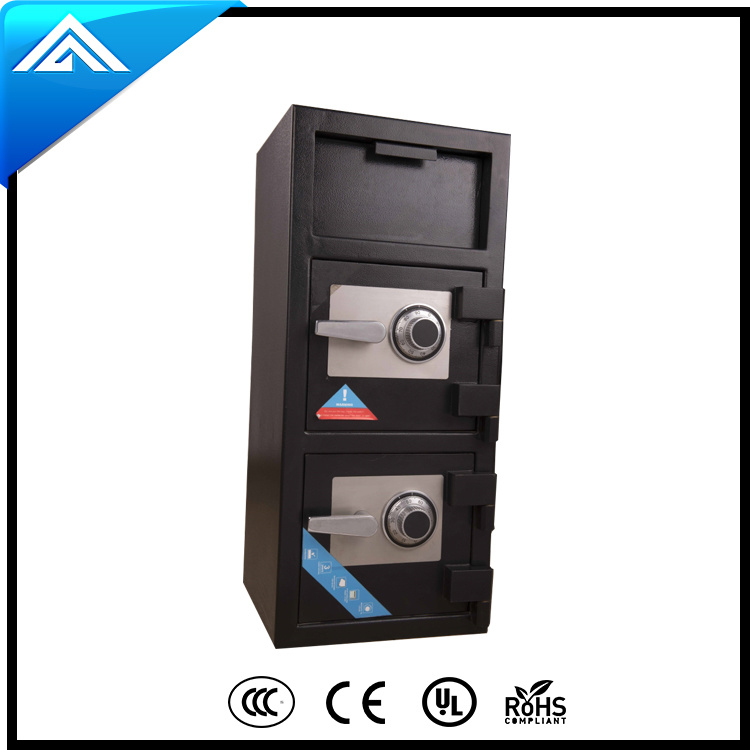 Deposit Safe with Mechanical Lock for Home and Office Use