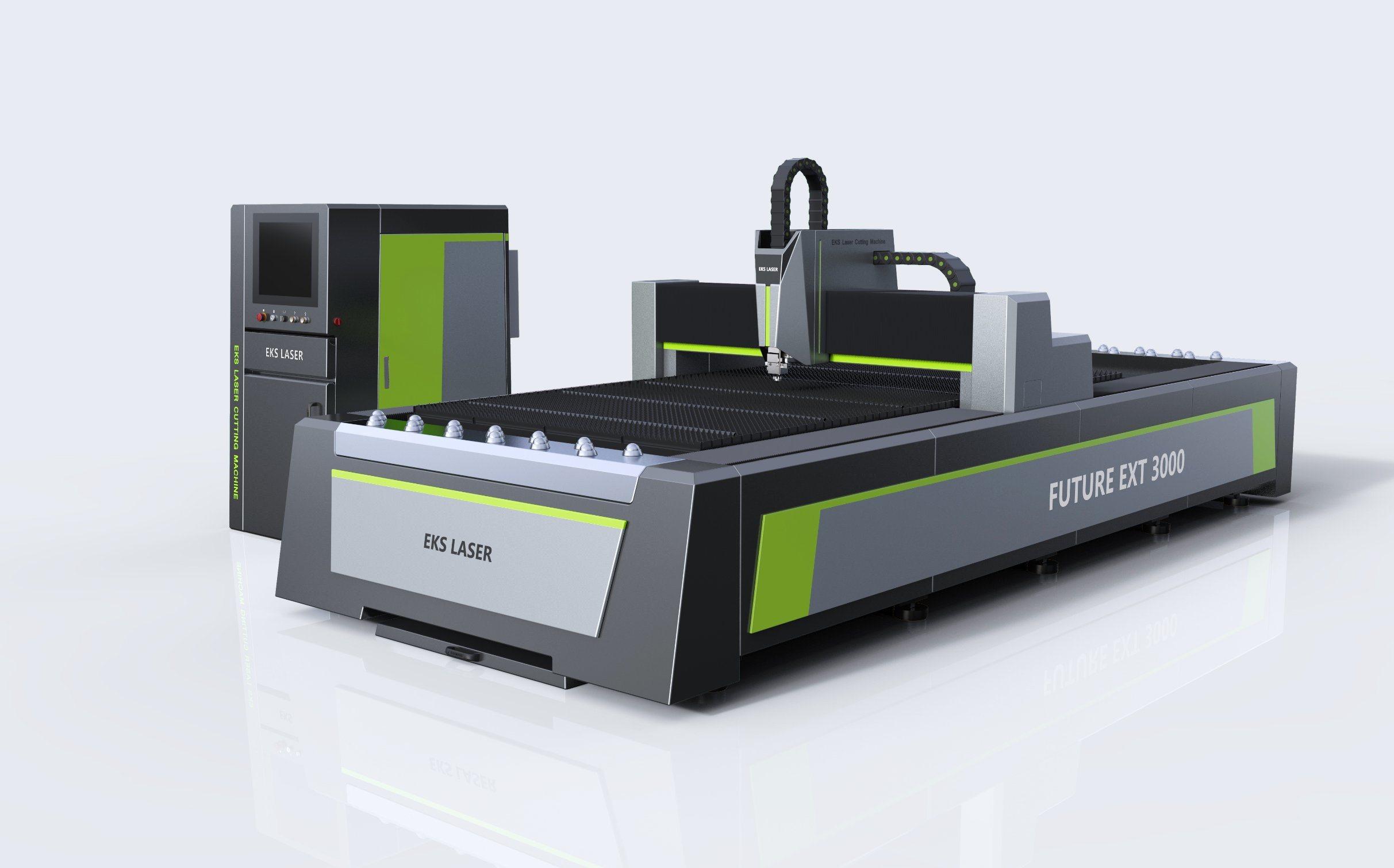 Fiber Laser Graving and Cutting Machine