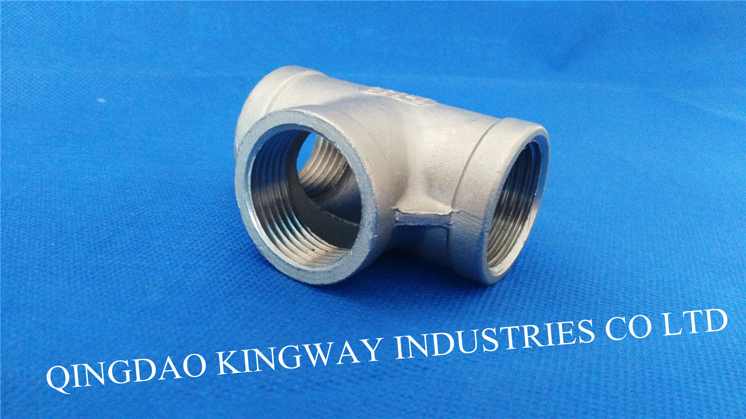 Stainless Steel Threaded Tee (TB)
