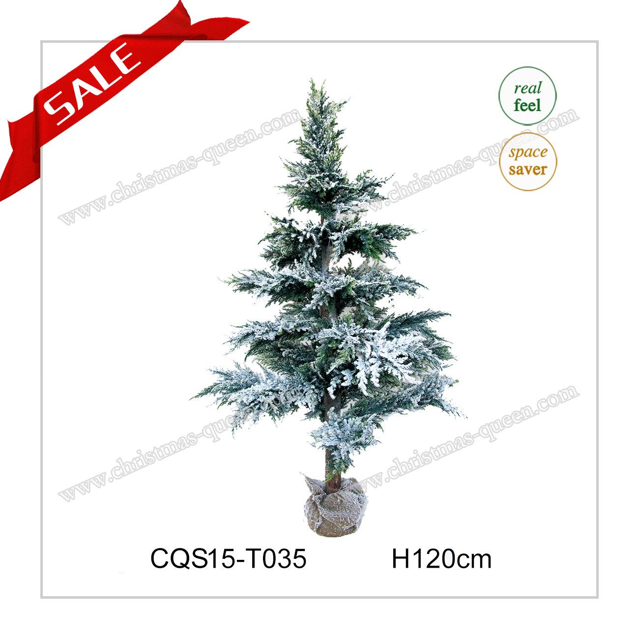 H5 Feet Landscape Christmas LED PE Pine Tree Christmas Ornament