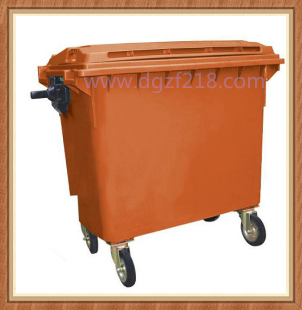 Superior Large Volume Sanitation Outdoor Plastic Dustbin for Sale