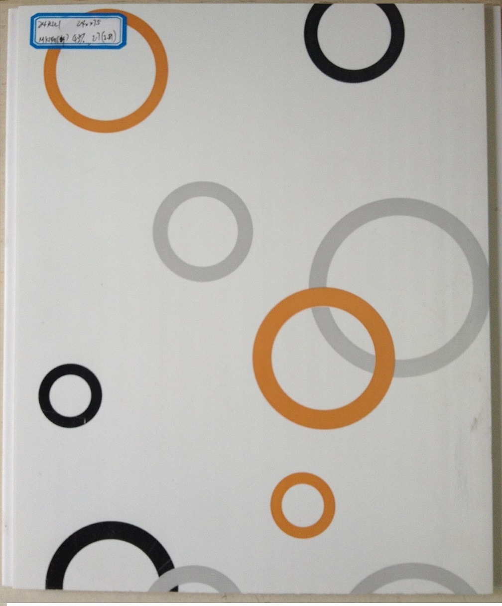 Hot Transfer PVC Panel 24cm Vivid Color