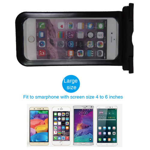 Waterproof Plastic Pouch Cell Phone Waterproof Pouch for Mobile Phone