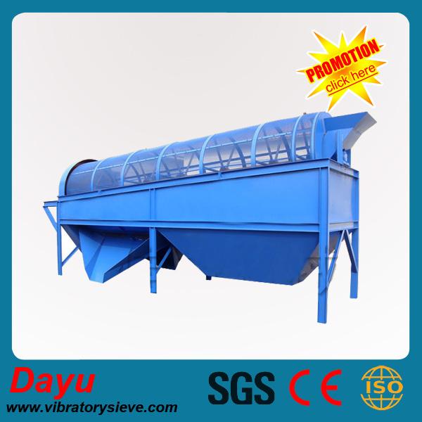 Abrasives Sieve Vibrating Screen Separator Roller Screen Screening Machine