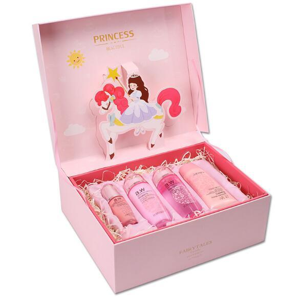 Prince Make-up Product Gift Box with Paper Bag