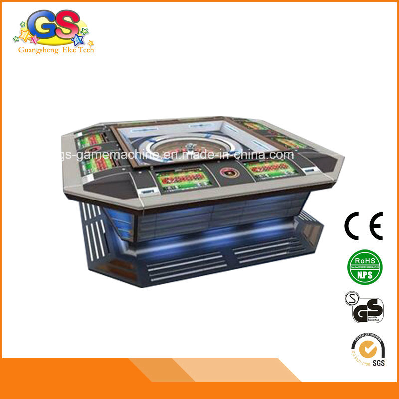 Super Rich Man Electronic Poker Game Machines Mini Chip Price Casino Roulette Table