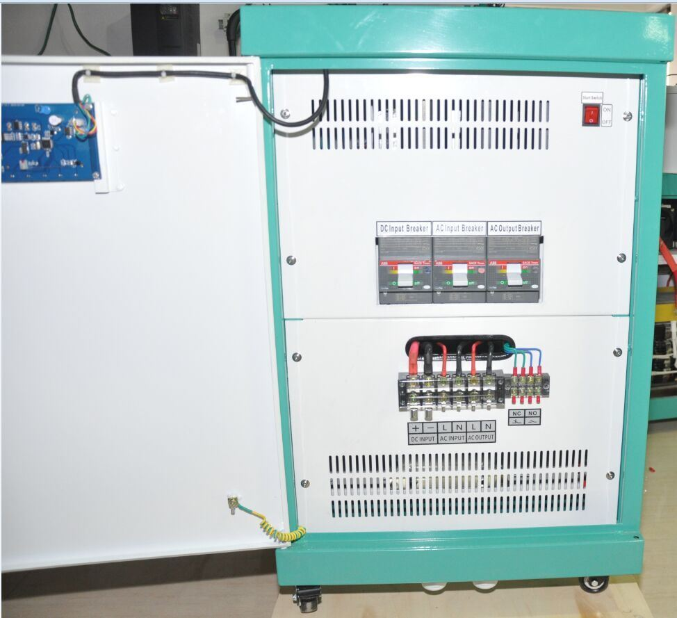 100-400VDC Input off Grid Motor Power Inverter with dual Three Phase Output for No Energy Storage System