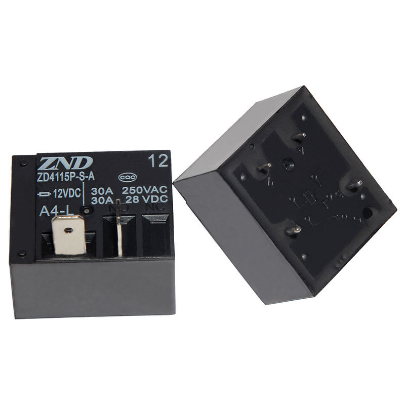Zd4115p (T93) Miniature Size Power Relay for Household Appliances &Industrial Use 30A Contact Sensitivity Switch