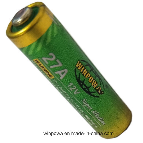 0% Hg 27A/A27 12V Alkaline Dry Battery