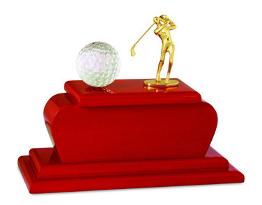 Supply OEM/ODM Resin Golf Trophy for Sport Souvenir