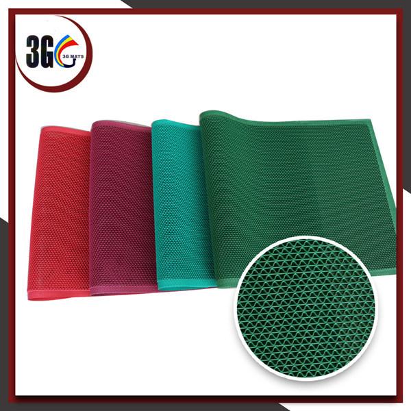Anti Slip PVC S-Shaped Hollow Mat Useful Swimming Pool