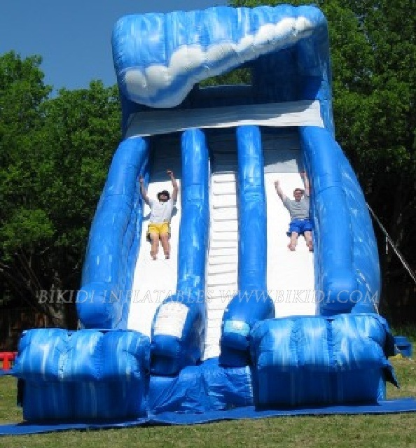 Inflatable Water Slide China: China Inflatable Water Slides, Giant Beach Slide With
