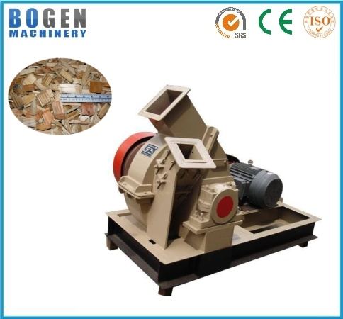 Large Capacity Efficiency Industrial Wood Chipper