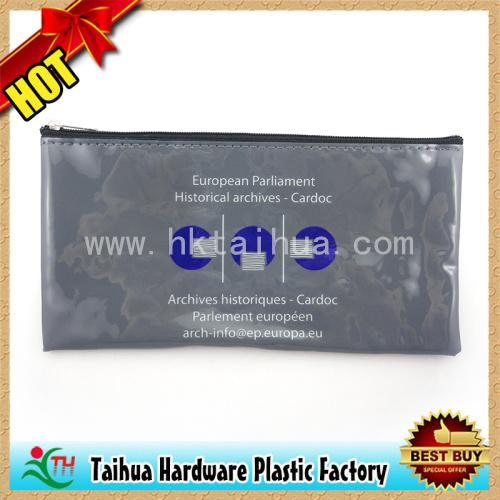 Custom Printed PVC Pen Pouch / PVC Pencil Bags (TH-06112)
