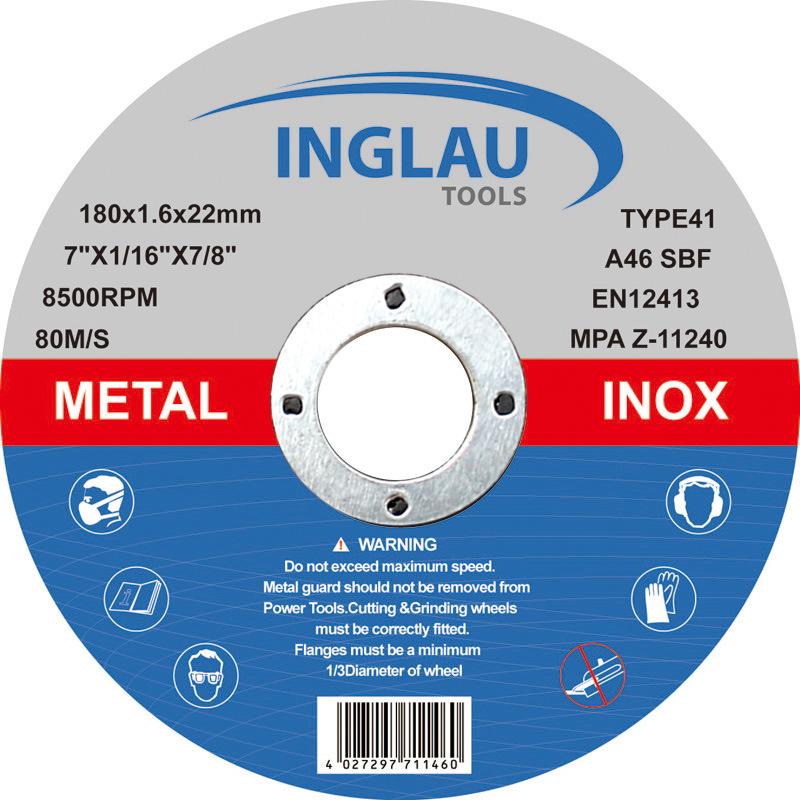 180X1.6X22.2mm Super Thin Cutting Wheel