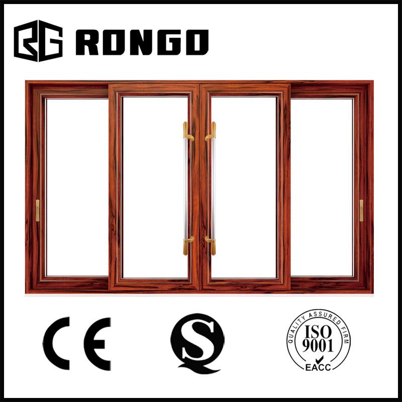Commercial Double Aluminum Frame Glass Doors/High-Grade Steel Security Door with CCC/Ce Certificates