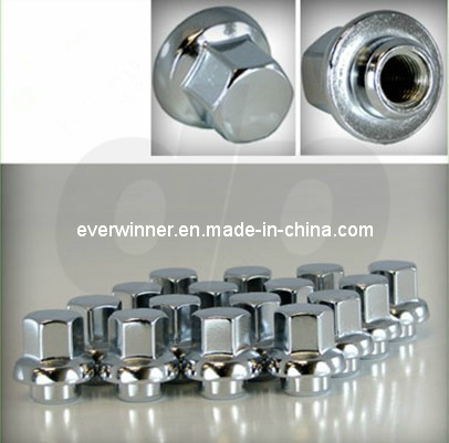 20 Brilliant Chrome OEM Gm Style Wheel Lug Nuts, Stock, Oe