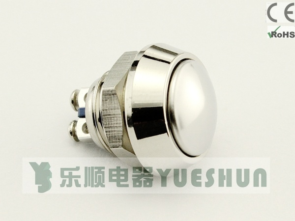 12mm Anti-Vandal Push Button Switch