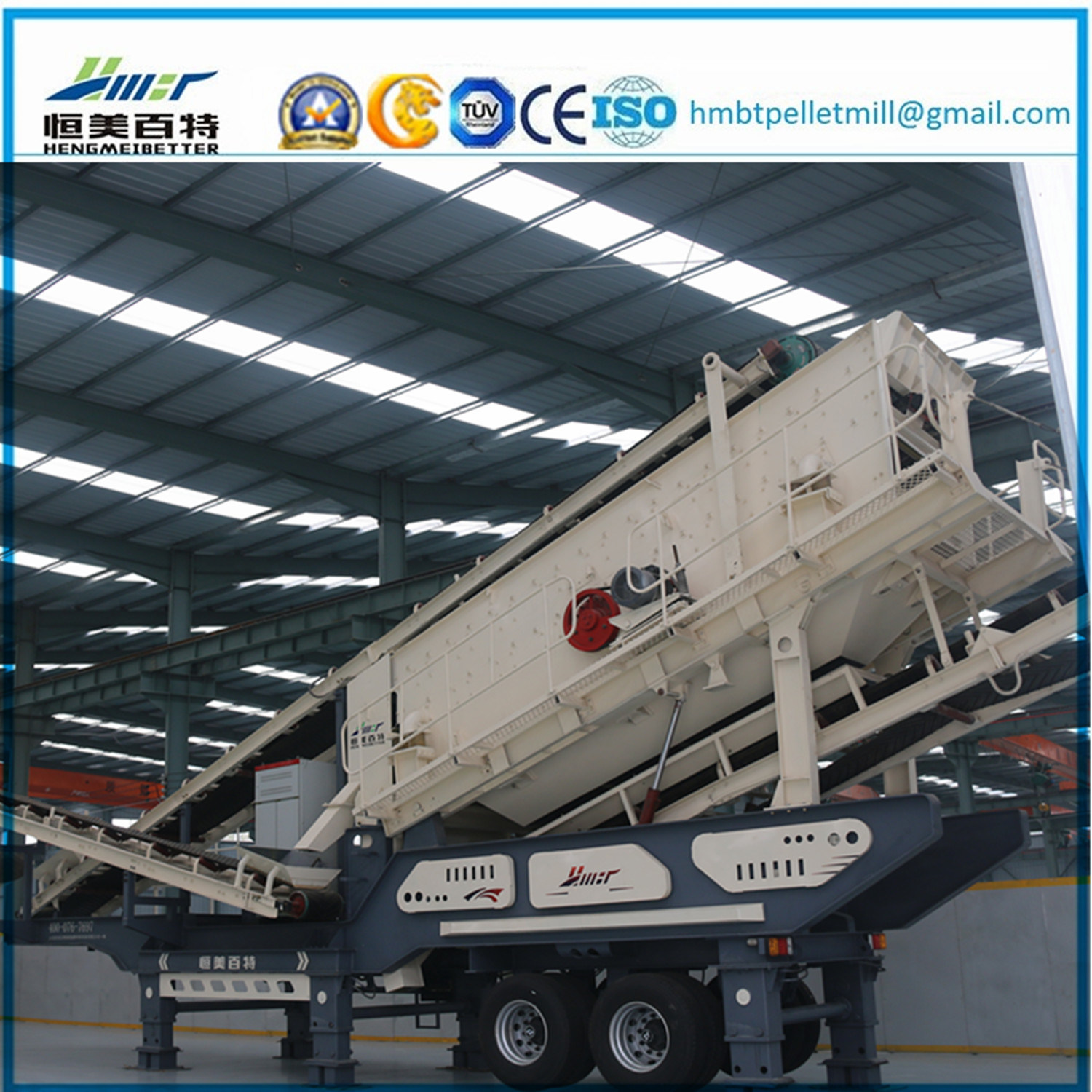 Construction Waste Stone Jaw Crusher Station