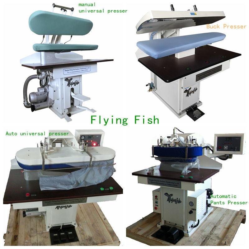 Laundry Equipment Steam Press Iron Machine (WJT)