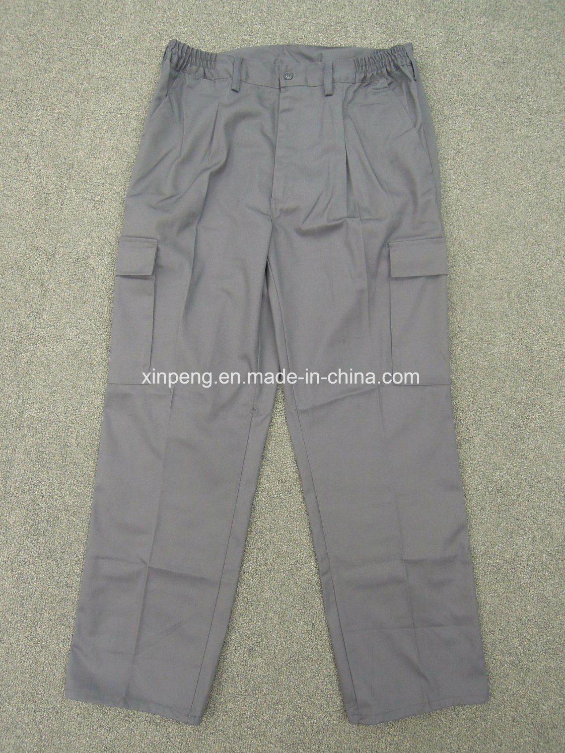 Safety Cargo Pants with Side Pocket Spain Market Design 6pockets