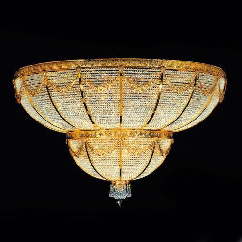 2011 Modern Hotel Crystal Ceiling Lamp (AQ-5002)