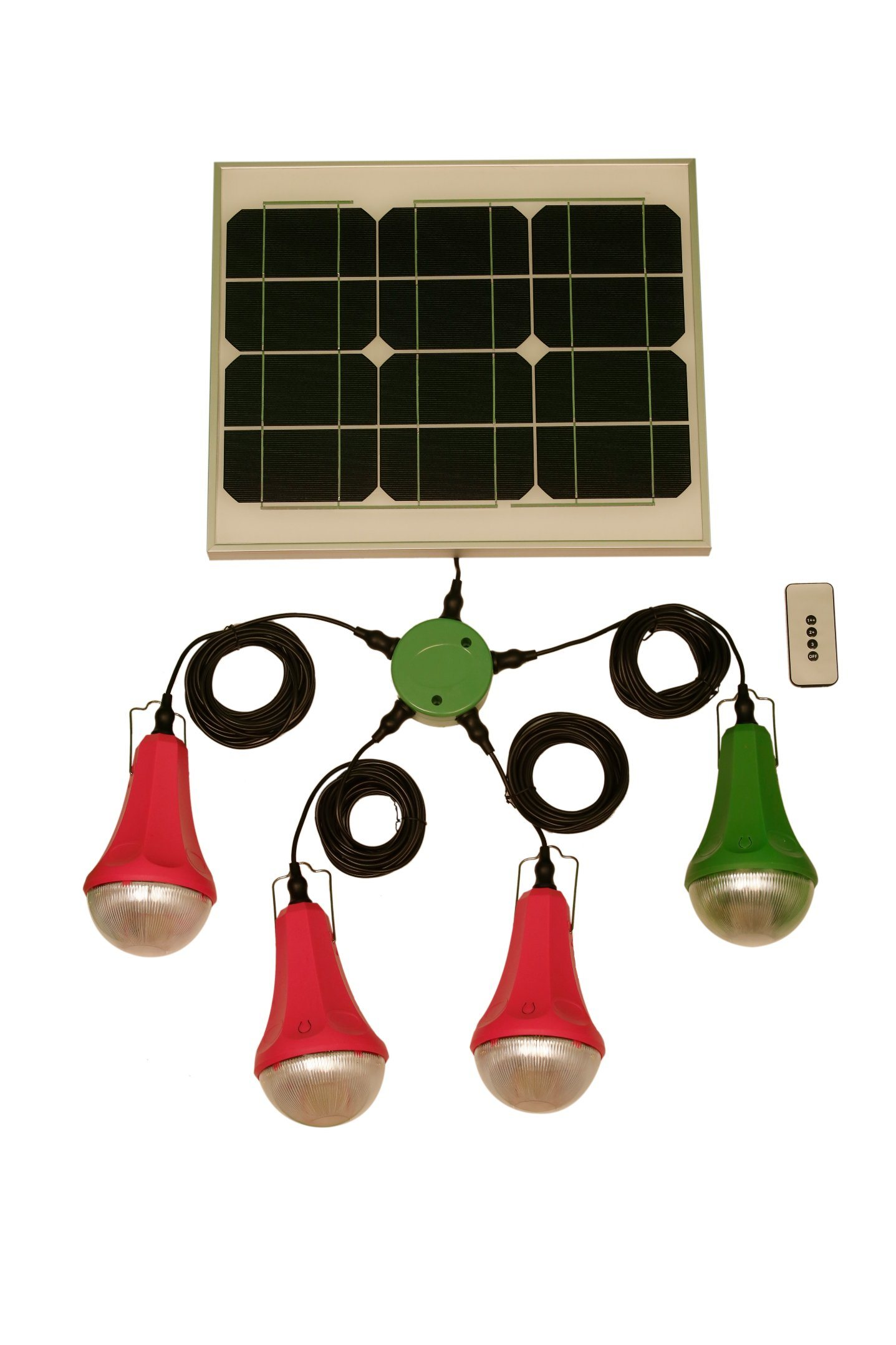 Hot 12V Low Cost Home Portable Solar Panel Kit Solar Lighting Kit with 4 Bulbs