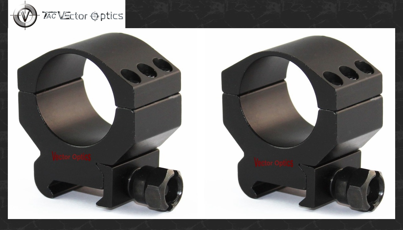 30mm Tactical Low Profile Scope High End Weaver Picatinny Mount Ring