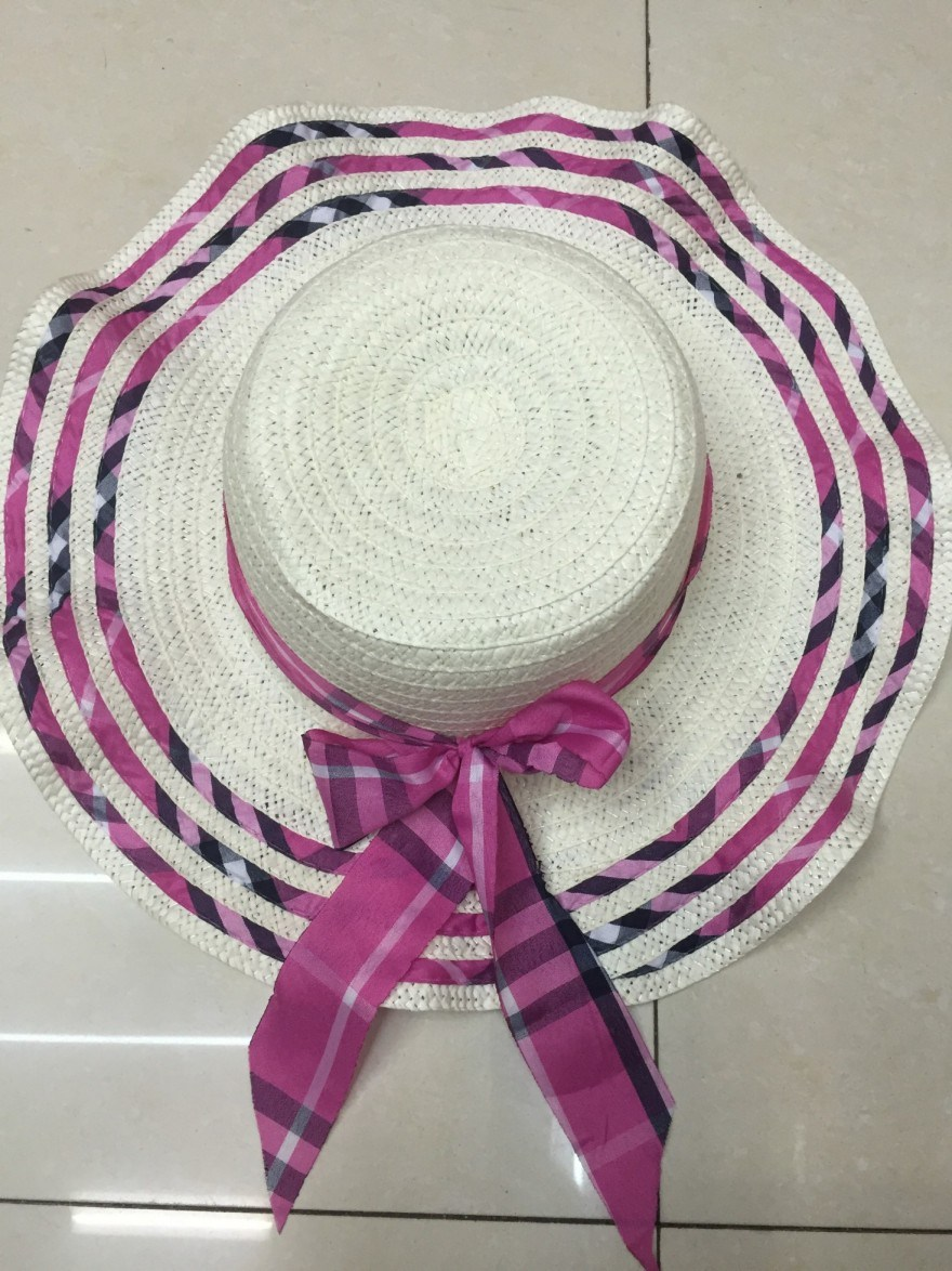 Sun Straw Paper Hot Selling Promotional Topee Glacier Cap Sunbonnet Hat GS122305