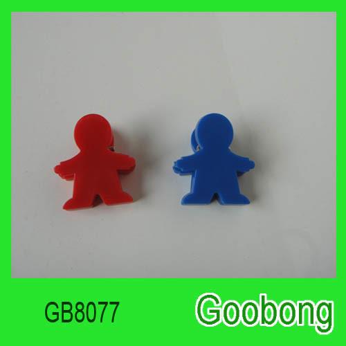Herringbone Mini Plastic Paper Clips (GB8077)