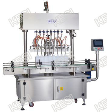 Automatic Time Gravity Bottle Liquid Filling Machine, Bottle Liquid Filler