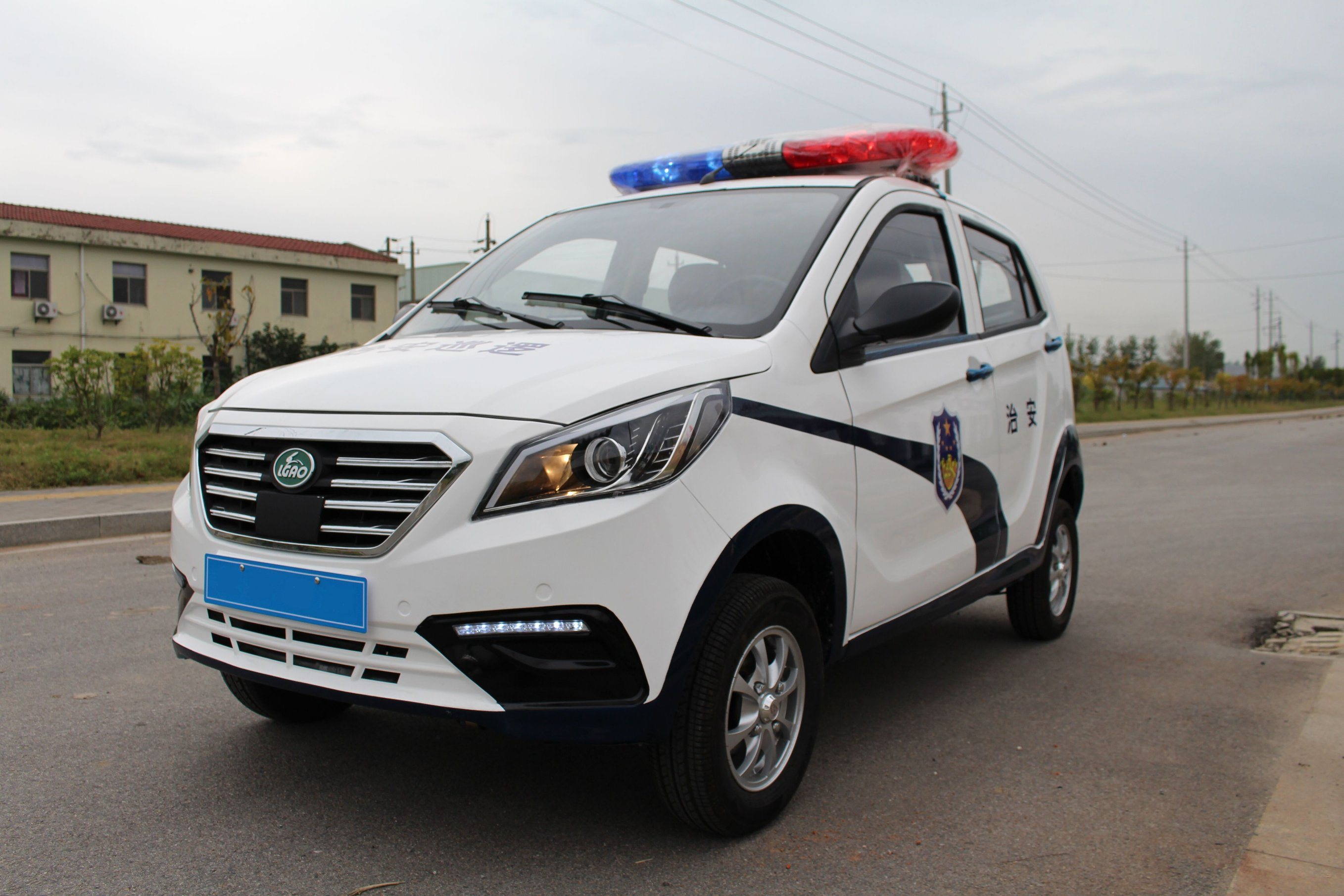 A5 Electric Patrol Car of 5 Seaters