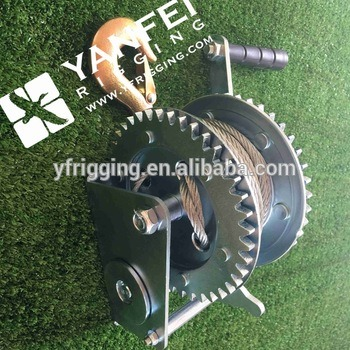 Wire Cable Winch, Wire Rope Hand Winch
