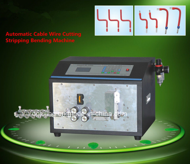 Automatic Wire and Cable Cutting Stripping Bending Machine