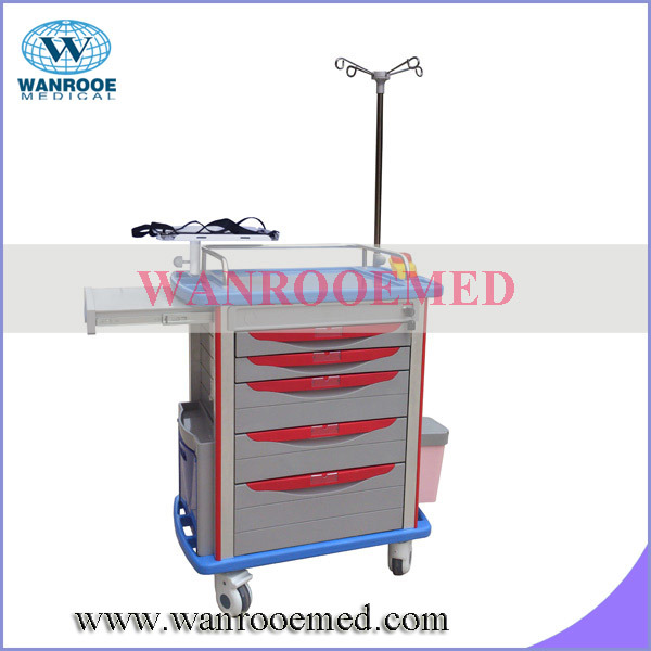 01 Seires ABS Medical Crash Cart/Hospital Furniture