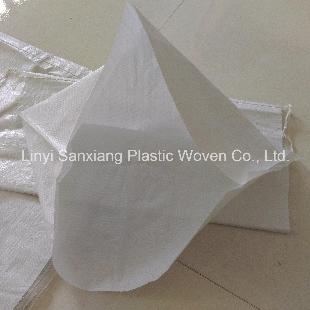 White PP Woven Bag Sack, Polypropylene Woven Bag, PP Woven Sack